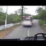 thaandur rtc bus theft by un known from busstand