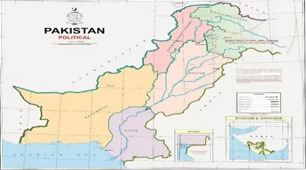 #Pakistan Map