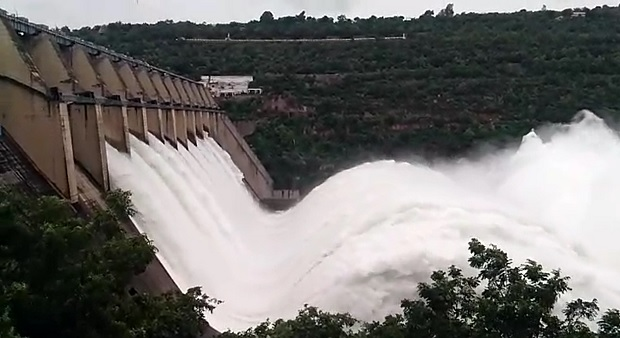 #Srisailam Project